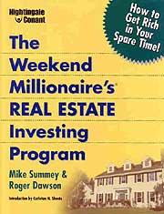 The Weekend Millionaire's Real Estate Investing Program CDs